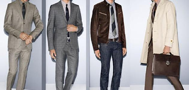 Coordinating the colors of men's clothing