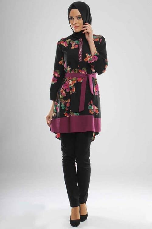hijab style Spring Summer Tunic Models Young Hijab Clothing Tunic Models