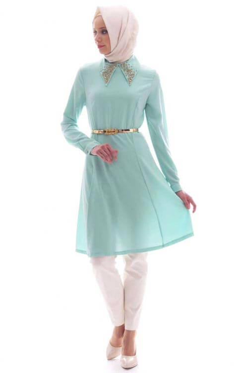 hijab style Spring Summer Tunic Models Young Hijab Clothing Tunic Models
