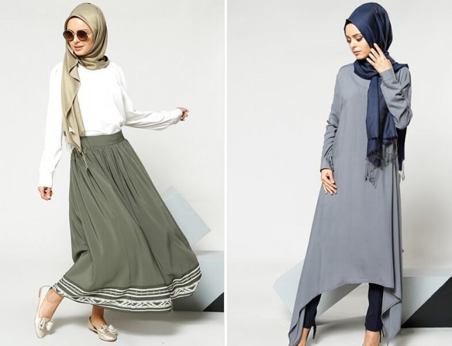 hijab clothing collections stylish hijab Dresses clothes Muslim ladies