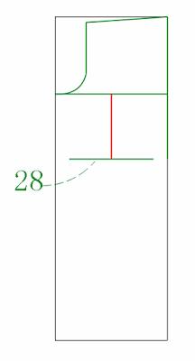 Knee width 28