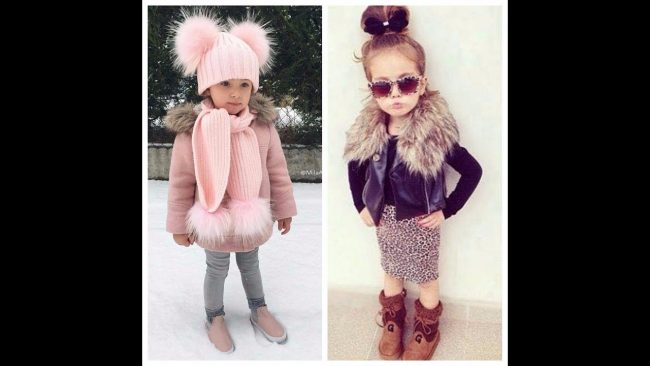 Winter Girls Clothes 2020