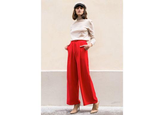 Wide pants