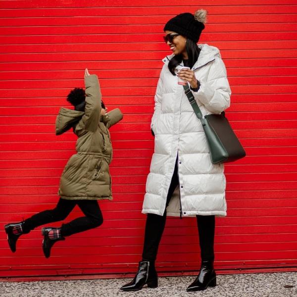 Blown coat
