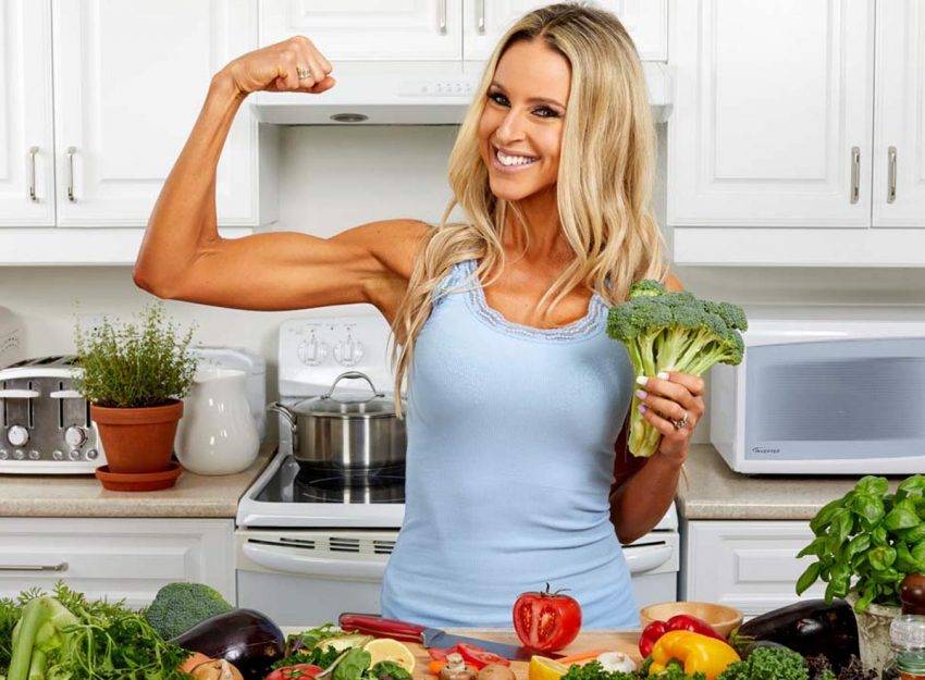 Diet to build women's muscles Building Guide for Female