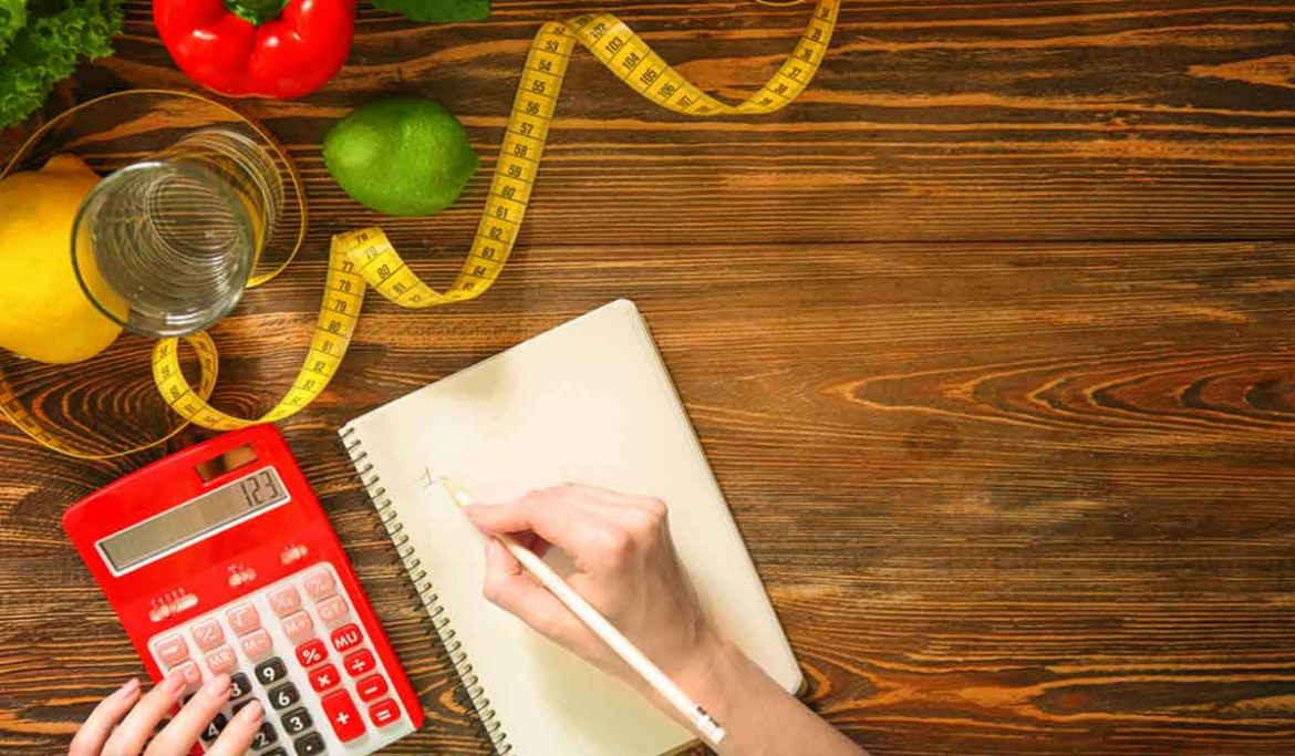 How to calculate calories and control weight