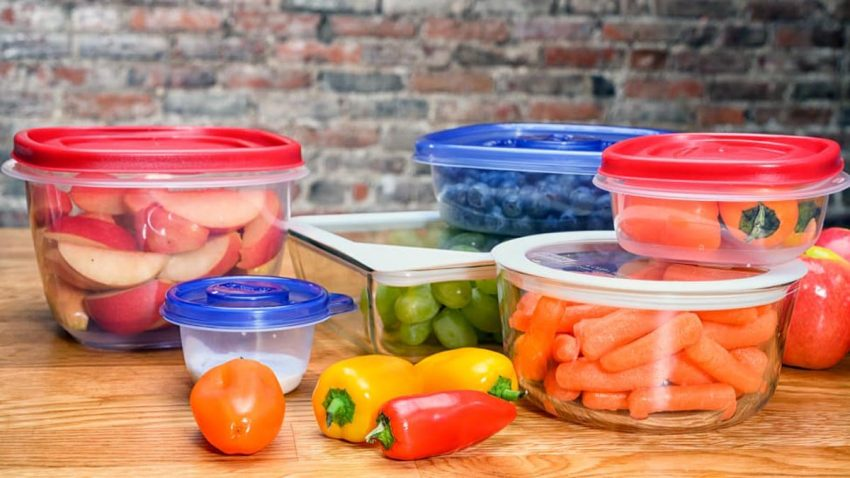 How to remove bad smells from Tupperware containers Plastic Containers