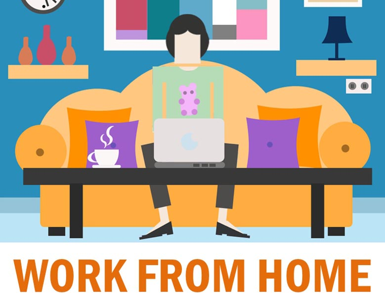 Work from home 15 different areas to make money from your home