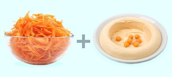 Carrots + Tahini