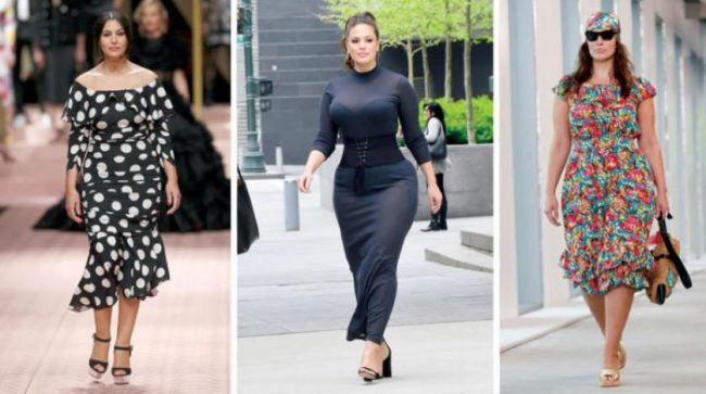 Clothing that suits the shape of the pear body