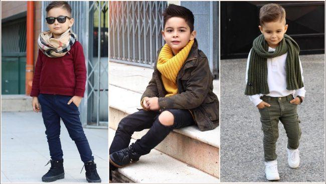 Children's fashion for winter 2020
