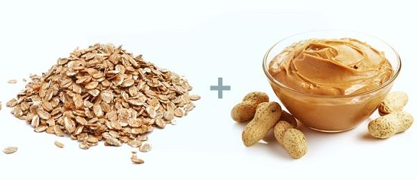 Oatmeal + Peanut Butter