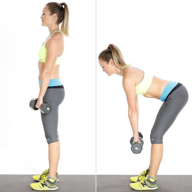 Glute press (leg press): push from your glutes not your knees.
