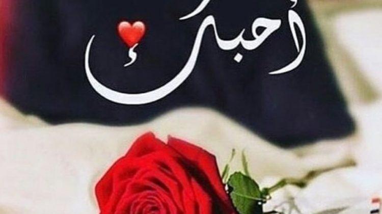 بحبك اجمل صورة كلمة بحبك رومانسية جدا للعشاق